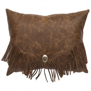Butte Leather Pillow