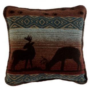 Deer Meadow Square Pillow