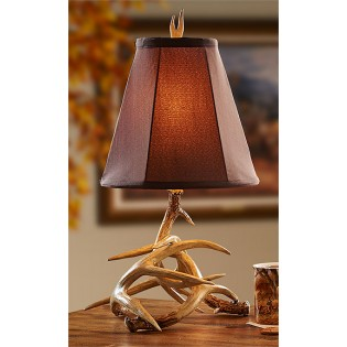 Petite Antler Table Lamp