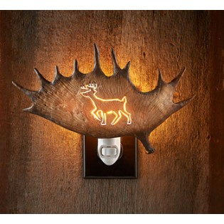 Antler Night Light – Deer