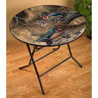 Wood Ducks Folding Table