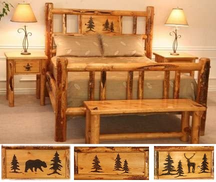 Rocky Mountain Log Beds