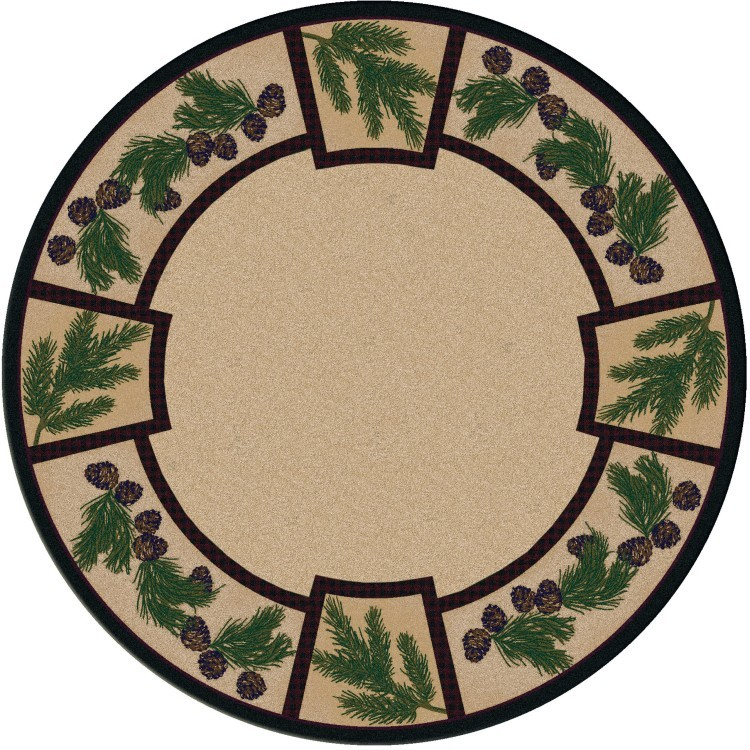 Valley Forest Pine Cone Area Rugs