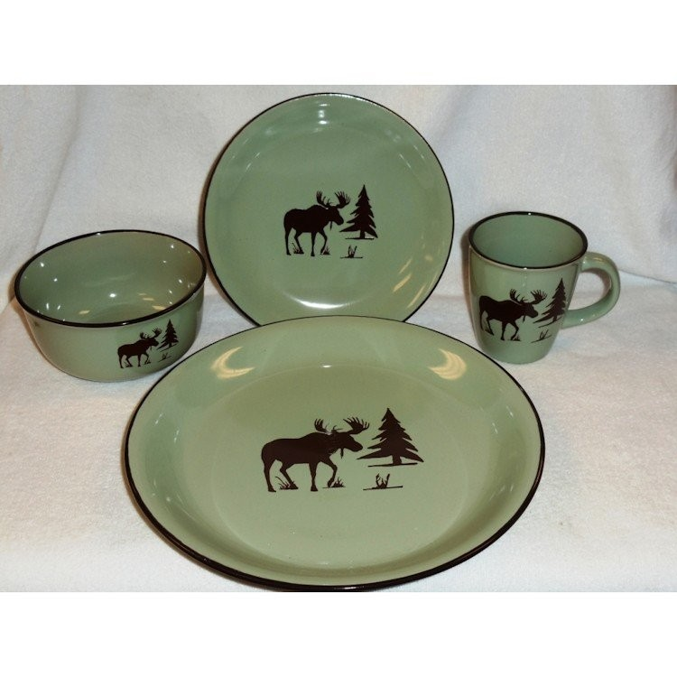 Meadow Moose Dinnerware - DISCONTINUED  sc 1 st  The Cabin Shop & Meadow Moose Dinnerware