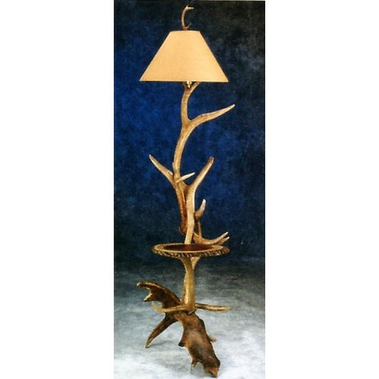 Elk moose floor lamp with shelf aloadofball Image collections