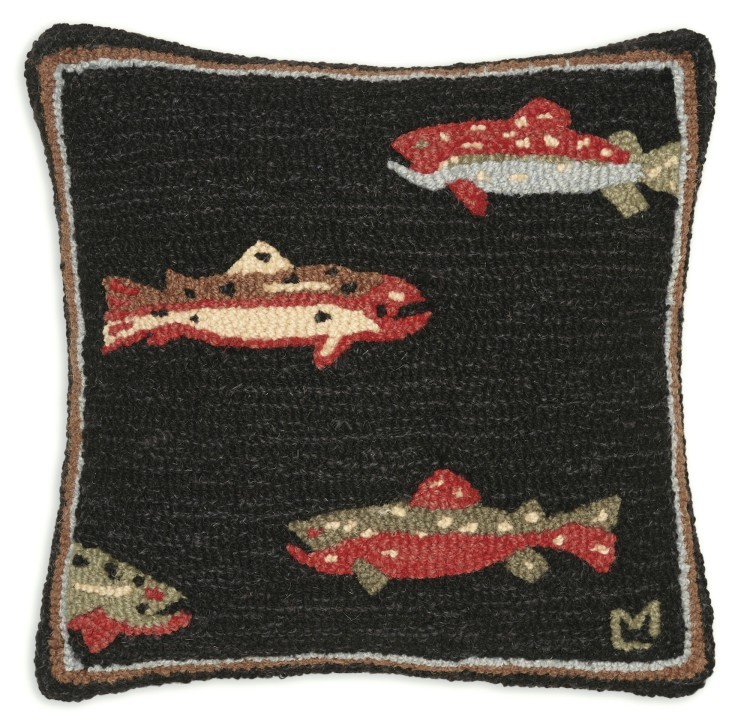 cabin pillow lake p sllhlt trout in decor x house western