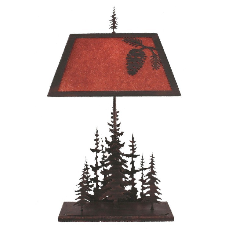 Pine grove table lamp for Clp annex 6 table 3 1