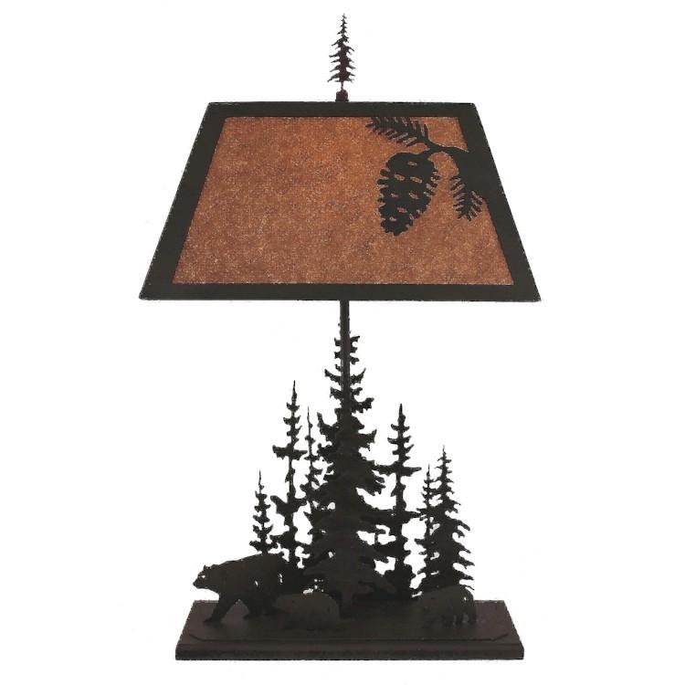 Evergreen bear table lamp for Clp annex 6 table 3 1