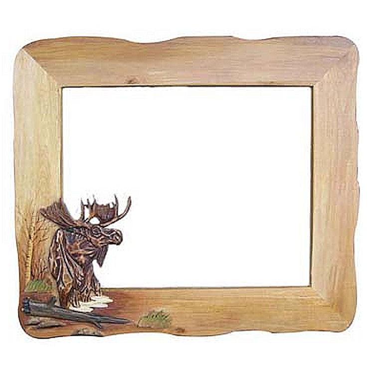 Moose Mirror 30 x 36