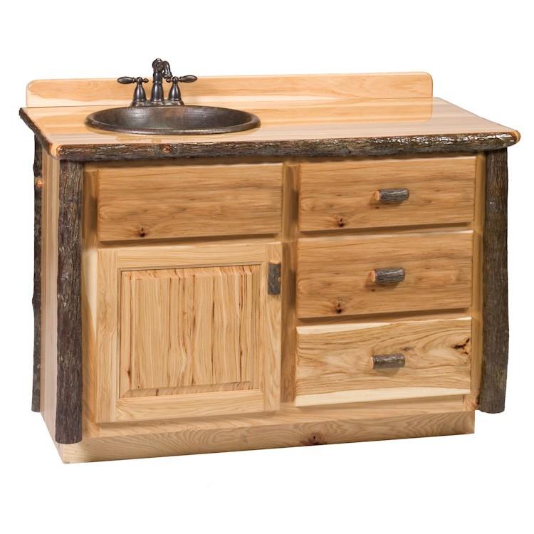 Hickory Vanity 4 Foot, 4 Ft Bathroom Vanity