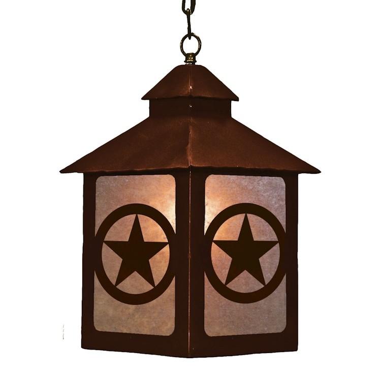 Texas Star Lantern Pendant Light Discontinued