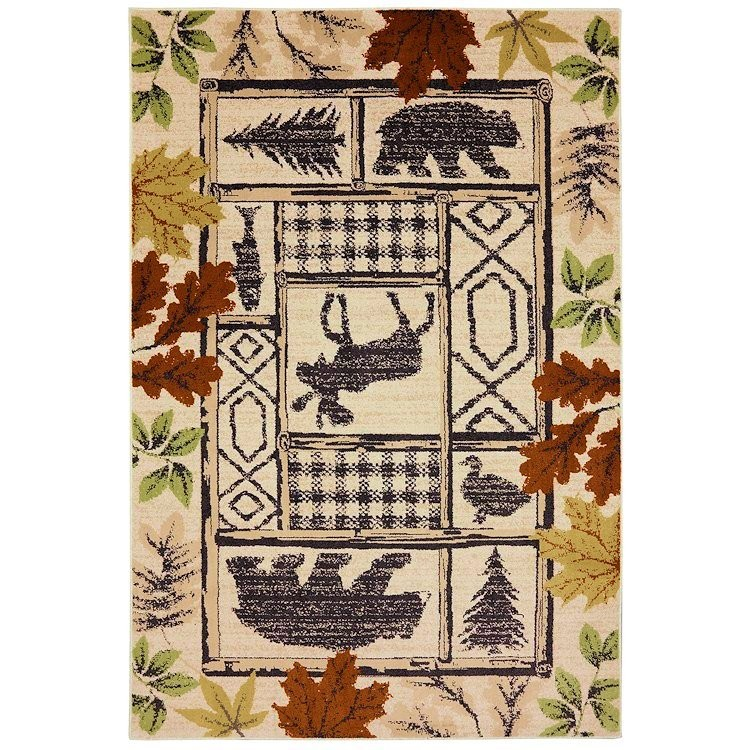Autumn Leaves Area Rug Collection