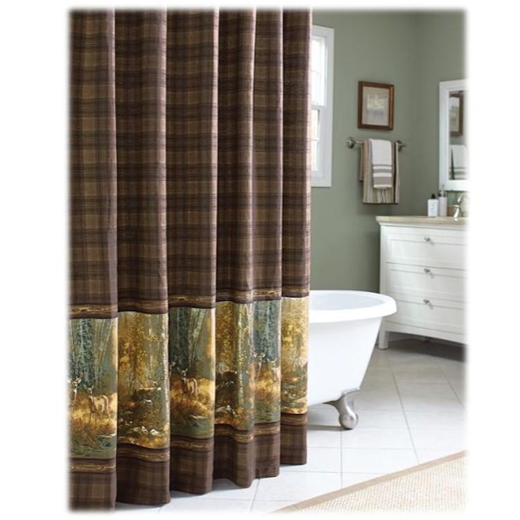 Whitetail Birch Shower Curtain