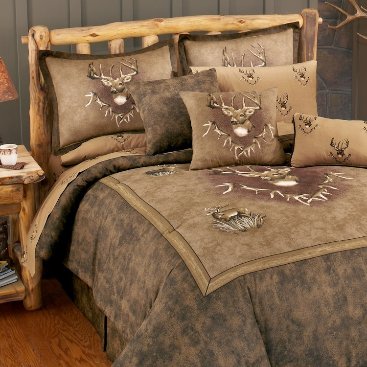 Whitetail Ridge Comforter Sets, Earth Tone Bedding Collections