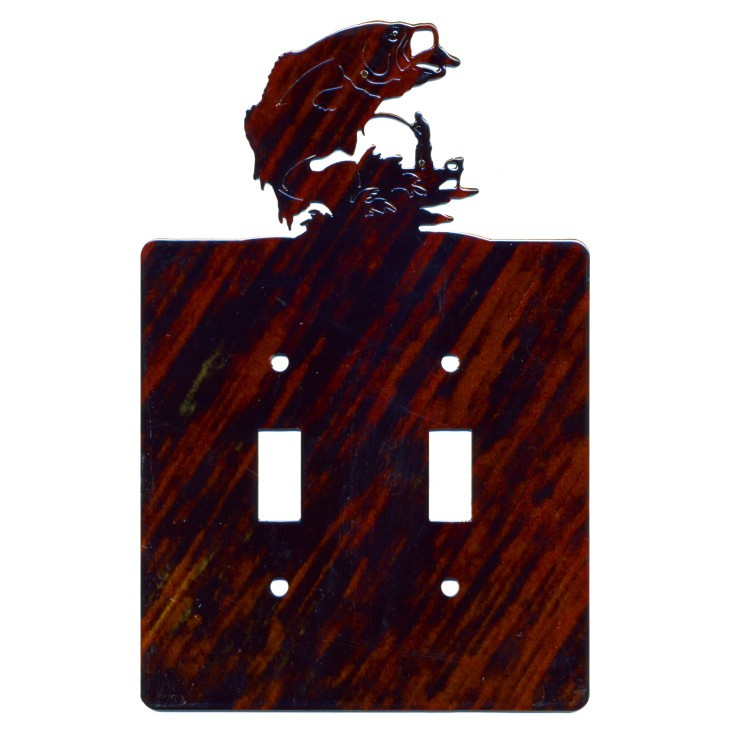 Bass Light Switch Covers