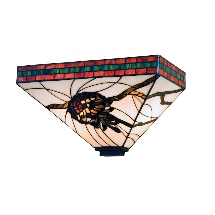 Pinecone Mission Wall Sconce