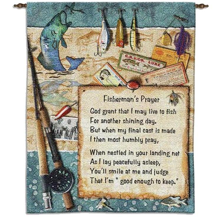 Fishermans Prayer Wall Hanging