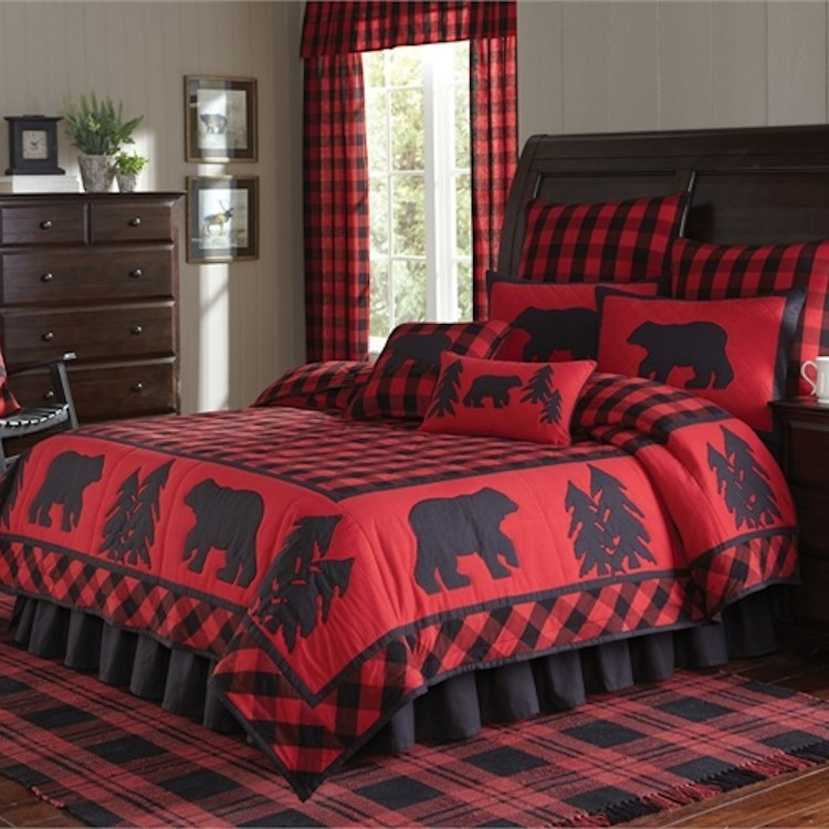Buffalo Check Quilt Bedding Collection, Buffalo Check Bedding And Curtains