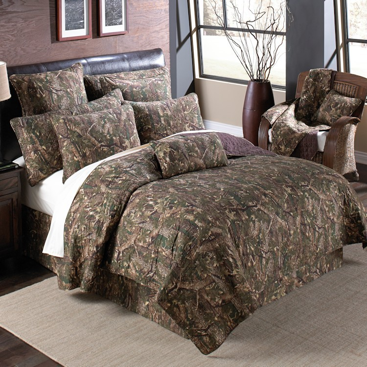 Quilted Camouflage Bed Set Full Discontinued