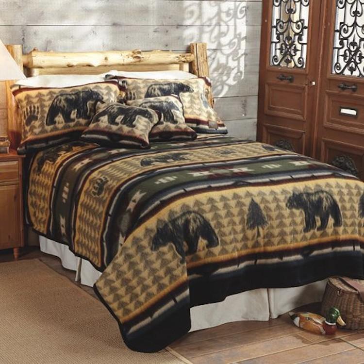 Bear Fever Fleece Bedding