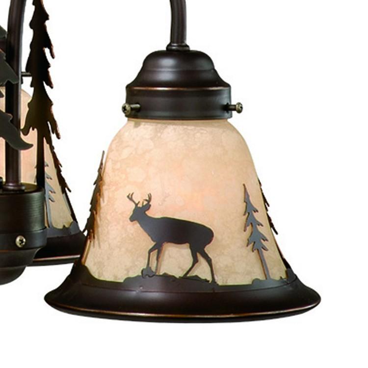 Bryce Deer 3 Light Mini Chandelier