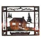 At the Cabin Metal Wall Art -DISCONTINUED