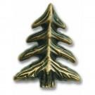 Antique Brass Small Pine Tree Knob