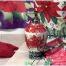 Poinsettia Lotion Pump-CLEARANCE