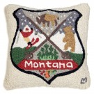 Montana Patch Wool Pillow