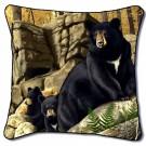 Den Mother Bear Pillow