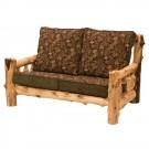 Cedar Log Loveseat