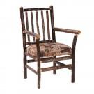 Hikcory Spoke Back Arm Chair