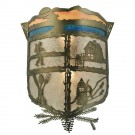 Lake Clear Lodge Wall Sconce