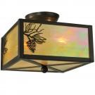 Balsam Pine Flush Mount Ceiling Light
