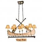 Canoe Chandelier - 8 Light
