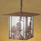 Pine Tree Lantern Pendant Light