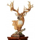 Noble Bearing – Whitetail Deer Sculpture