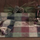 High Country Pine Cone Table Linens