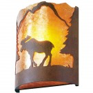 Timber Ridge Moose Sconce