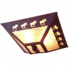 Band of Moose Ceiling Light