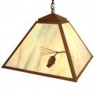 Ponderosa Pine Swag Pendant Light