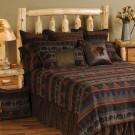 Cabin Bear Rustic Bedding