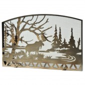 Moose by the Lake Firescreen - Available in 2 Sizes