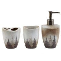 Clearwater Pines Bath Accessories Set