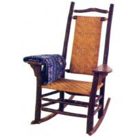 Paddle Arm Rocking Chair