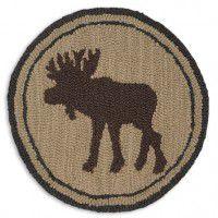Tan Moose Chair Pad - Set of 4