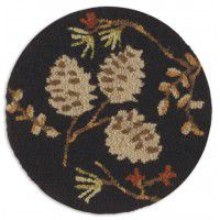 Pine Cone Chair Pad-Set of 4