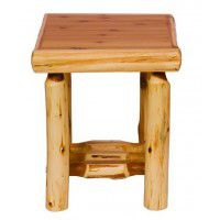 Log Open End Table