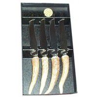 Antler Steak Knives