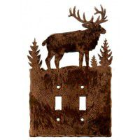 Elk Light Switch Plates